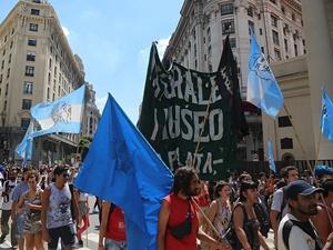 """Arjantin'de Devlet Başkanı Macri Karşıtı """"Ulusal Grev"""""""