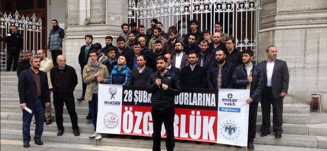 Makder: 28 Şubat Mağdurlarına Özgürlük