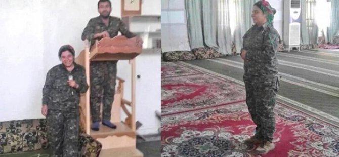 YPG'liler Camilerle Dalga Geçti