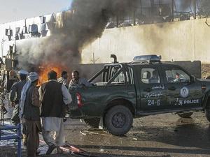 Afganistan'da Patlama: 15 Yaralı