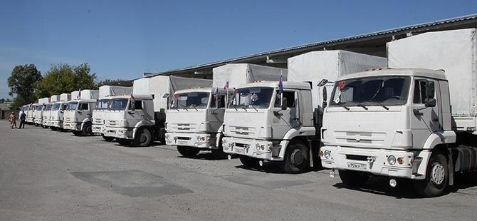 Ukrayna'da Rusya TIR'larının Transit Geçişine Engel