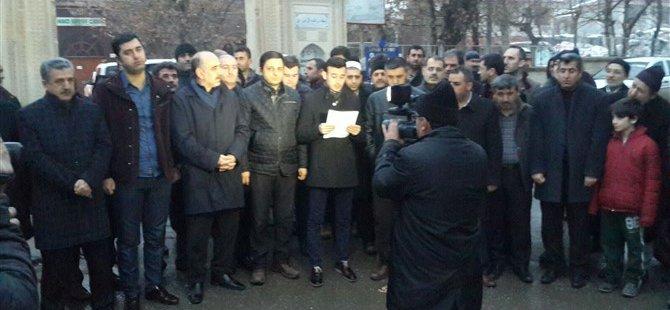 19. Yılındaki 28 Şubat Darbesi Muş'ta Protesto Edildi