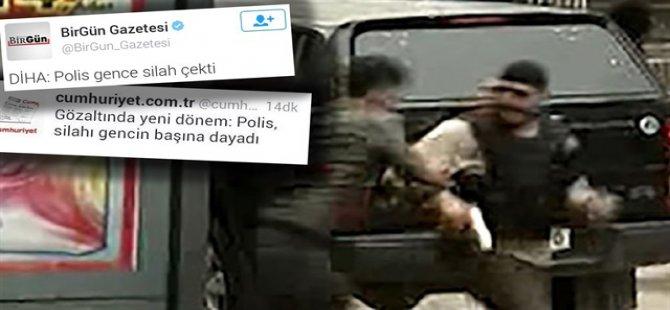 Polisin Silahını Almaya Çalıştı, Mağdur Gösterildi