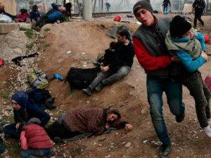 Makedonya Polisi Mültecilere Saldırdı!