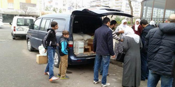 Amasya'dan Sur'a Kardeşlik Eli