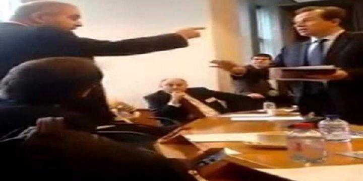 Neo-Naziler Avrupa Parlamentosunu Bastılar