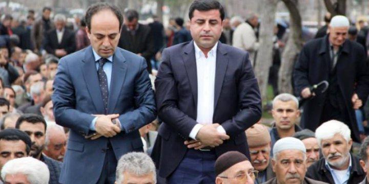 HDP'den Cuma Namazı Şovu