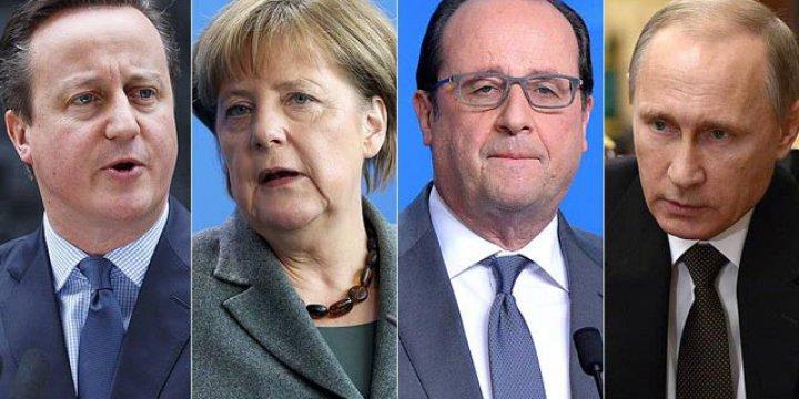 Avrupalı Liderlerden Putin'e 'Saldırıları Sonlandır' Çağrısı