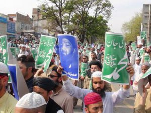 Cemaat-i İslami Pakistan'da Mümtaz Kadri'nin İdamını Protesto Etti