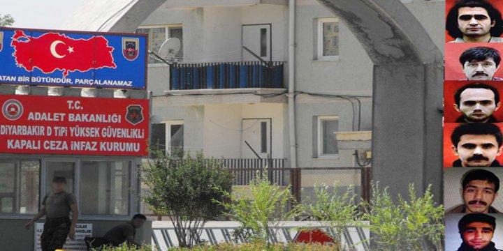 Diyarbakır'da 6 PKK'li Mahkûm Firar Etti