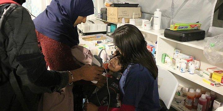 İdomeni Kampında Hastalık Çocukları Vuruyor