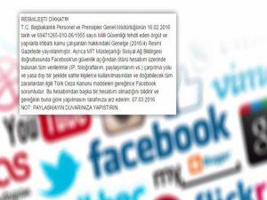 """Sosyal Medyadaki """"Resmileşti Dikkat"""" Uyarısı"""