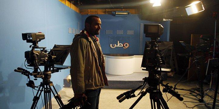 İşgalci İsrail'den Filistin Televizyonuna Baskın