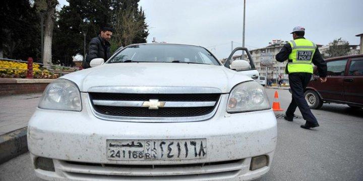 Suriye Plakalı Araçlara Geçici Trafik Belgesi