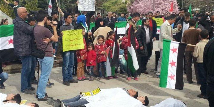 Ankara Özgür-Der, 5. Yılını Dolduran Suriye İntifadasını Selamladı