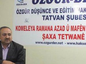 """Tatvan Özgür-Der'de """"Nifak ve Münafık"""" Kavramları İşlendi"""