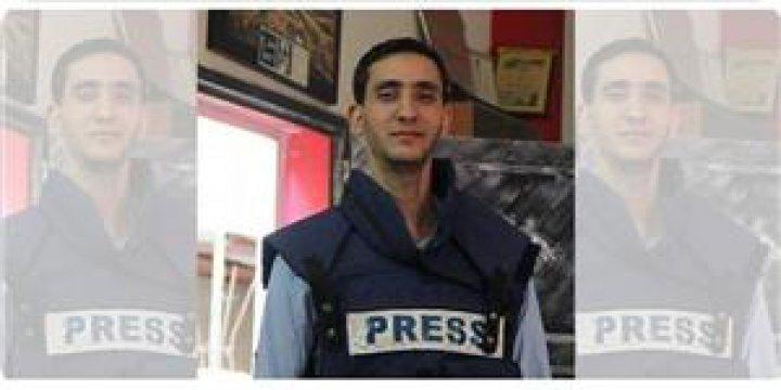 Filistinli Esir Gazetecinin Sağlık Durumu Kötüye Gidiyor