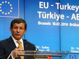 Başbakan Davutoğlu: Türkiye ve AB Arasında Bir Anlaşmaya Vardık