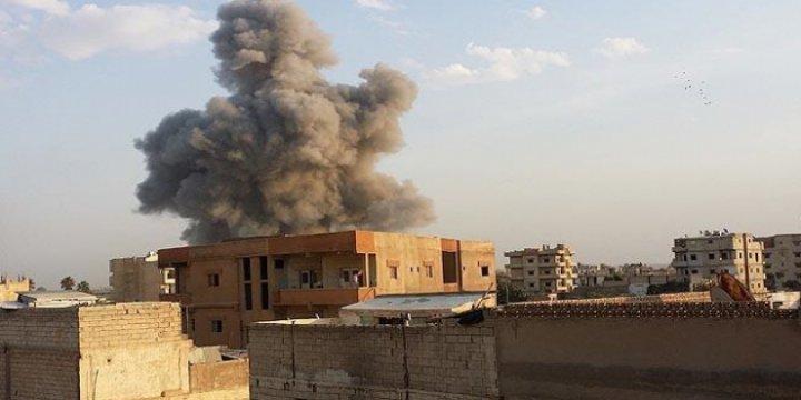 Esed Ordusundan Cuma Namazı Sırasında Hava Saldırısı