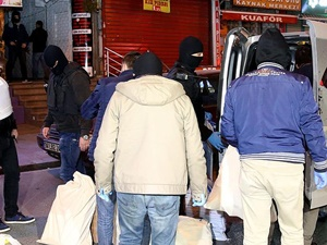 HDP Bağcılar İlçe Başkanlığı Binasında Arama Yapıldı