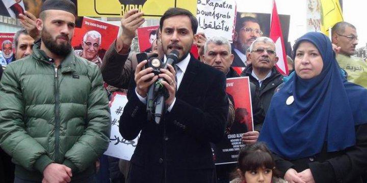 İstanbul Mısır Başkonsolosluğu Önünde Basın Açıklaması