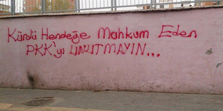 """""""Kürdü Hendeğe Mahkum Eden PKK'yı Unutmayın!"""""""