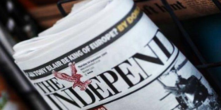 Independent On Sunday Son Kez Basıldı