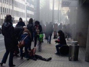 Brüksel'de Metro İstasyonunda da Patlama Meydana Geldi