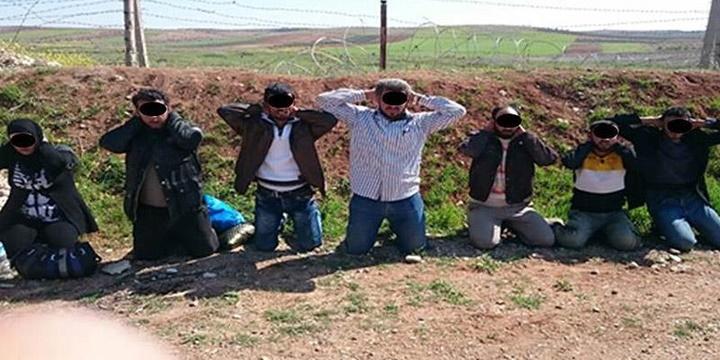 """""""Suriye Sınırında Canlı Bomba Eylemcisi Yakalandı"""""""