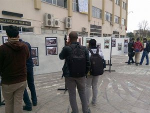 """Uludağ Üniversitesi'nde """"Acının ve Direnişin Portresi: Suriye"""" Fotoğraf Sergisi"""