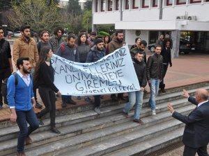 KTÜ'de İslami Vakfa Saldıran Sol Faşistlere Müdahale Edildi