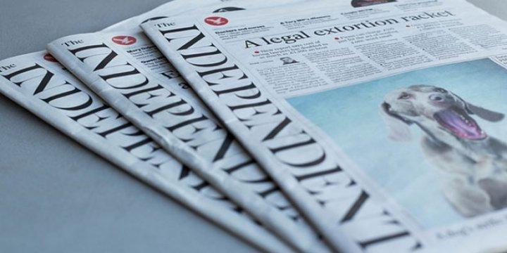 Independent Gazetesi Son Kez Basıldı