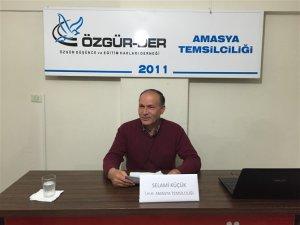 """Amasya Özgür-Der'de """"Kenya'da Müslümanlar"""" Konulu Seminer Yapıldı"""