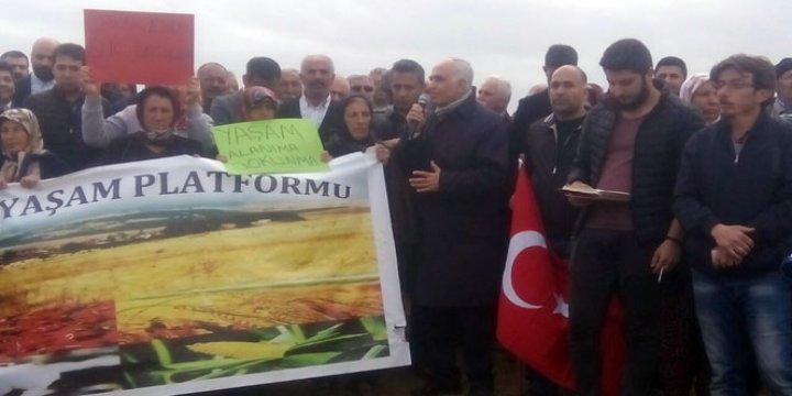 CHP ve HDP'den Sığınmacılar İçin Kurulacak Çadırkente Engel!