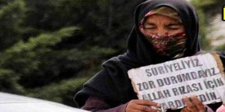 Suriyeli Kılığında Türkiyeli Dilenciler