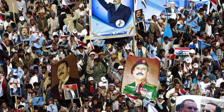 Yemen'de Husilerin Eyleminde Diktatör Salih Sahnedeydi!