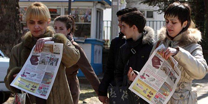 Kırım'da Ukrayna Dilindeki Tek Gazete Kapatıldı