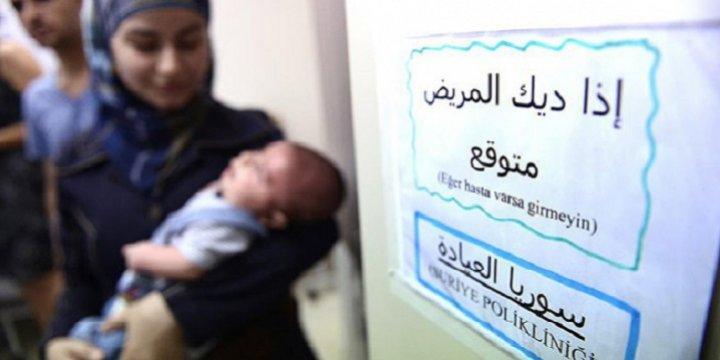 Suriyeli Mültecilere Poliklinik Hizmeti