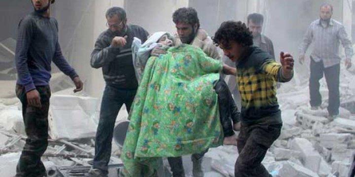 Suriye'de Mart Ayında 623 Sivil Öldürüldü