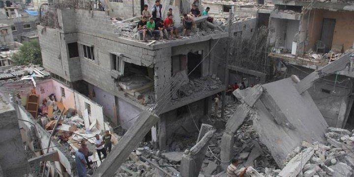 Gazze'nin İmarına İşgalci İsrail'den Yasak