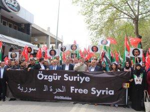 Sakarya'da 'Suriye'ye 460 Bin Adım' Etkinliği Gerçekleştirildi