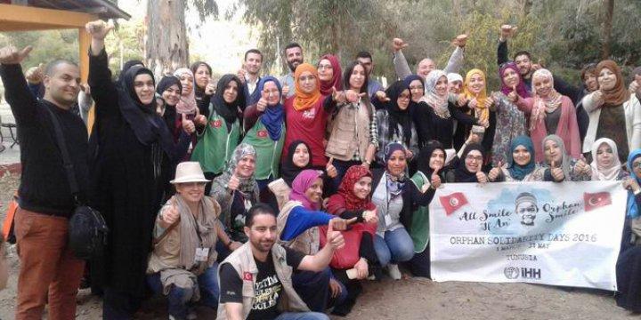 Tunus'ta Yetimlerle Dayanışma Günleri