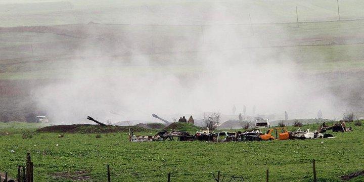 Ermenistan Ordusu Nahçıvan'a Ateş Açtı