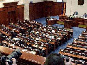 Makedonya'da Siyasi Krizin Çözümü Amacıyla Meclis Feshedildi