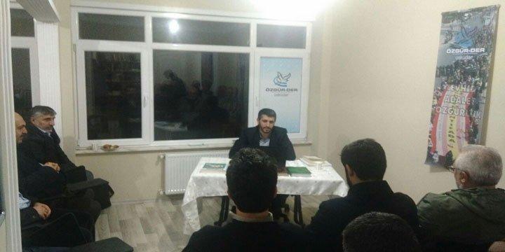 """Üsküdar Özgür-Der'de """"Batınilik"""" Konuşuldu"""
