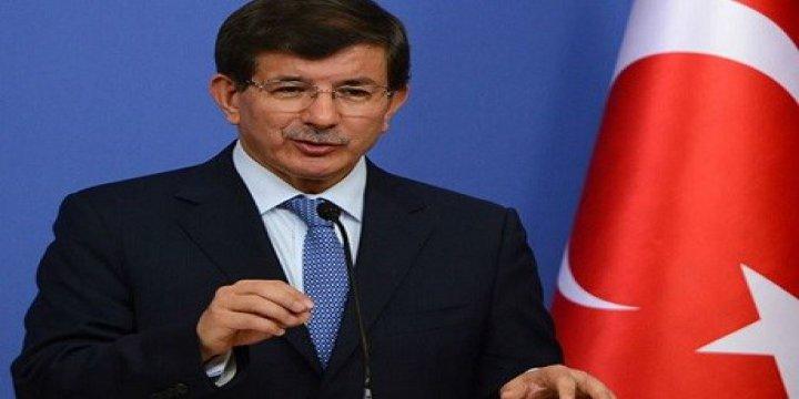 Davutoğlu: PKK'nın ÖSO ve Erbil'i Tehdidini Kendimize Tehdit Sayarız!