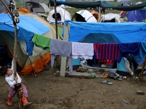 İdomeni'nin Esnaf Mültecileri