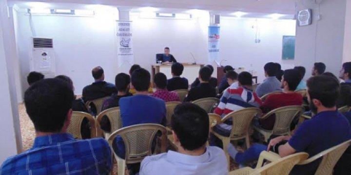 Diyarbakır'da Gençlik Seminerlerinin Beşincisi Gerçekleştirildi
