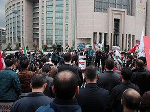 Mavi Marmara Davasının Yeni Duruşmasında İsrail Protesto Edildi