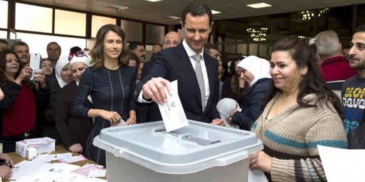 Suriye'de Anlamsız Seçim!
